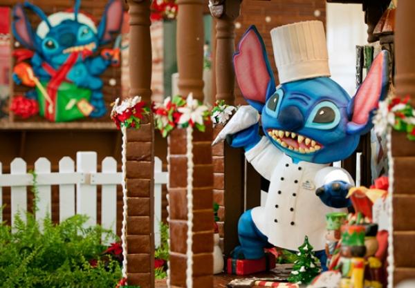 Disney Gingerbread House