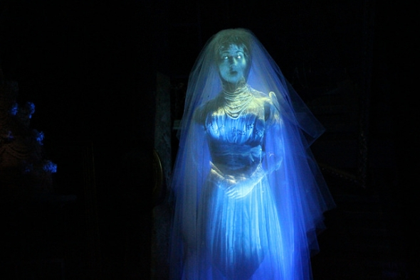 Ghost bride in The Haunted Mansion