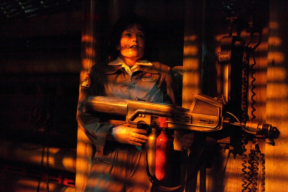Ripley in The Great Movie Ride