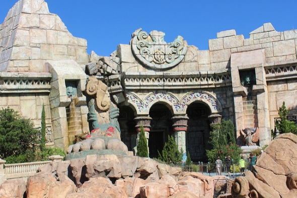 Poseidon's Temple at Islands of Adventure
