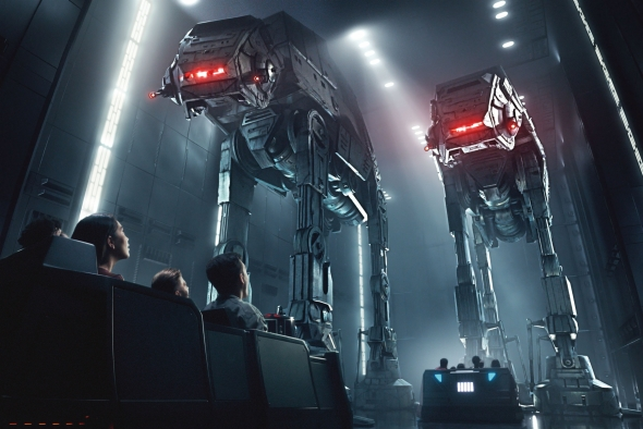 Rise of the Resistance AT-AT Concept art