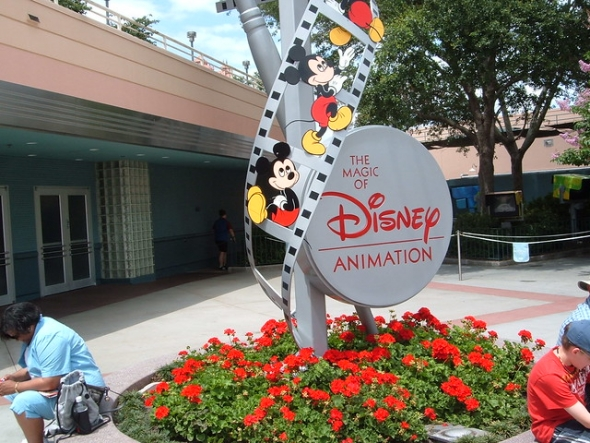 Sign for Magic of Disney Animation