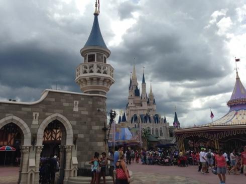 Cinderella's Kingdom walls
