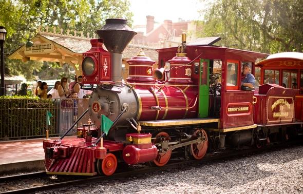 Disneyland Railroad