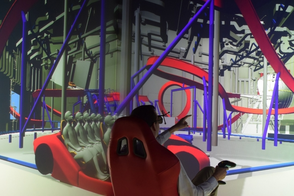 Mission Ferrari visualisation