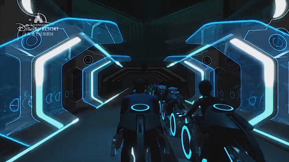 Tron Lightcycle Power Run concept art