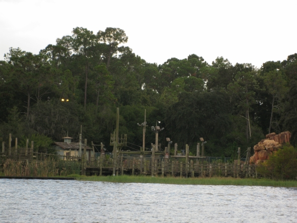 River Country from Bay Lake