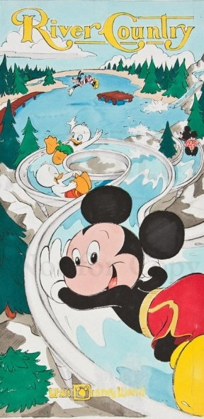 River Country poster artwork