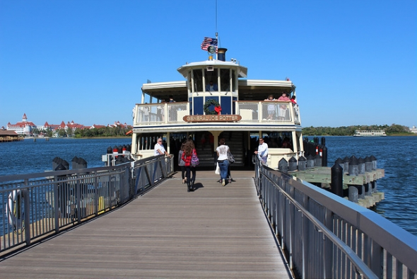 Disney boat transportation