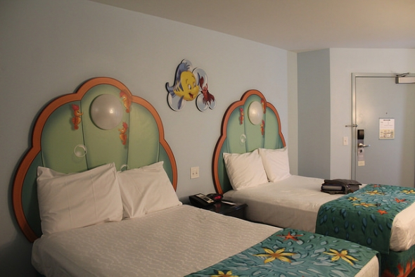 Little Mermaid Room at Art of Animation