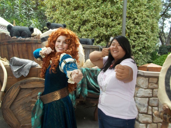 Strike a pose with Merida