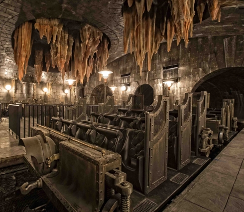 Gringotts Ride Vehicle