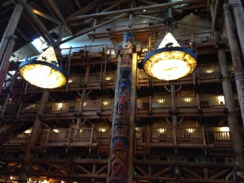 Wilderness Lodge Totem Poles