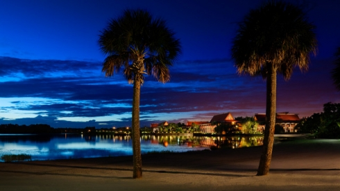Polynesian Village Resort Beach