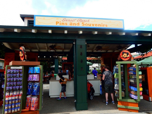 Sunset Ranch Pins and Souvenirs in Disney Hollywood Studios