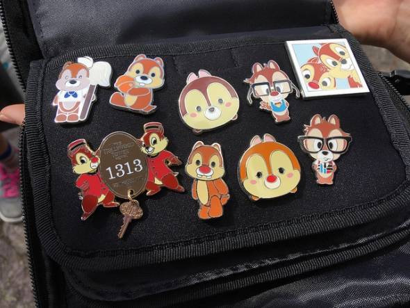 Chip and Dale pins