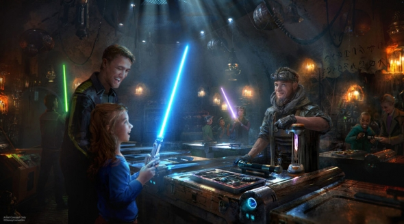 Savi's Workshop at Galaxy's Edge