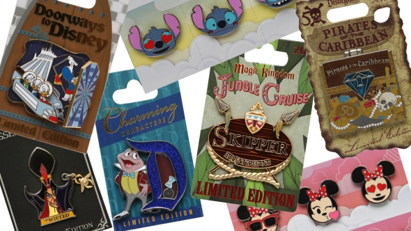 Assorted Disney Pins
