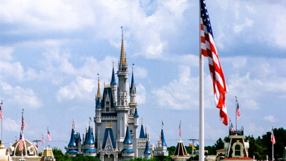 Magic Kingdom flag
