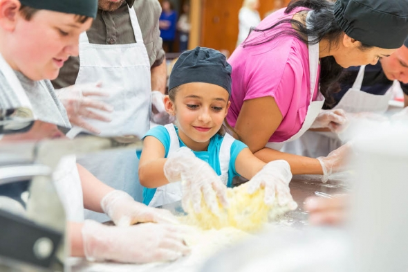 Kids' Cooking Classes at Wolfgang Puck Grand Cafe