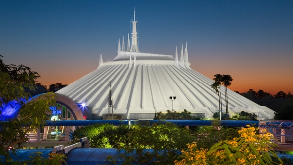 outside Space Mountain, Walt Disney World