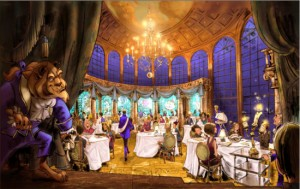 Be Our Guest concept art