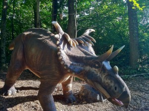 Dinosaurs Alive! triceratops