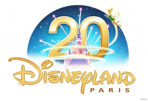 Disneyland Paris 20th anniversary logo
