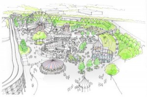 Dreamland Margate concept art