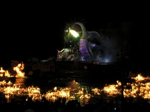 Fantasmic dragon image