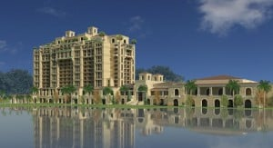 Four Seasons hotel render