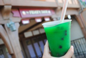 Bubble Tea at Magic Kingdom