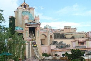 Journey to Atlantis at SeaWorld Orlando