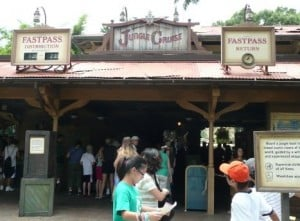 Jungle Cruise FASTPASS station