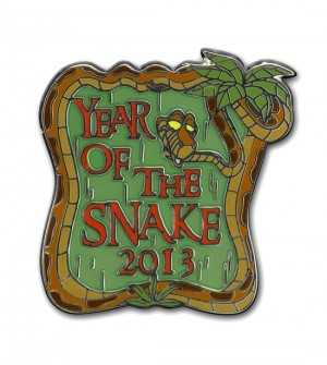 Year of the Snake logo
