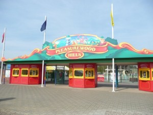 Pleasurewood Hills entrance