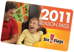 Six Flags season pass image