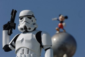 Stormtrooper with Mickey