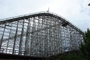 Texas Giant rollercoaster image