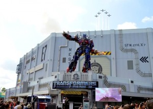 Transformers: The Ride - 3D grand opening