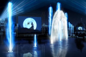 Universal's Cinematic Spectacular concept art