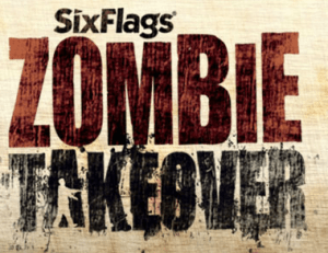 Six Flags Zombie Takeover logo