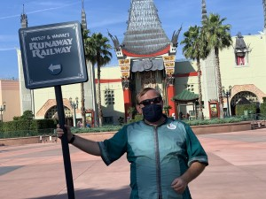 Disney Cast MEmber Mask