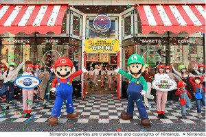 Mario Cafe, Super Nintendo World, Universal Studios Japan