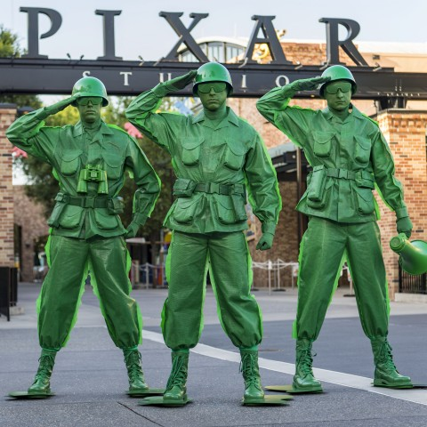 Army Men at Pixar Place