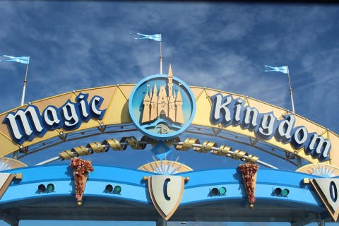 Magic Kingdom entrance gate