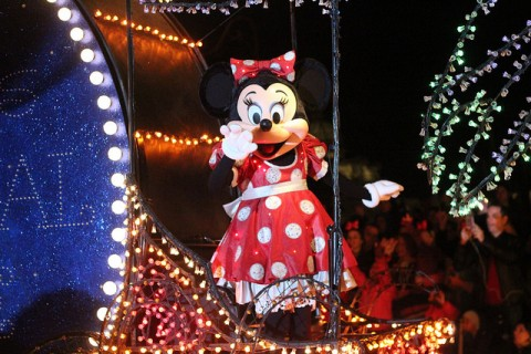Minnie Mouse in the Parade