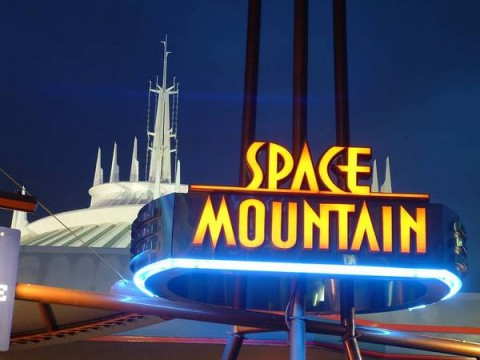 Space Mountain Exterior