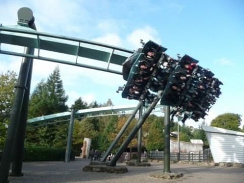 Air rollercoaster at Alton Towers