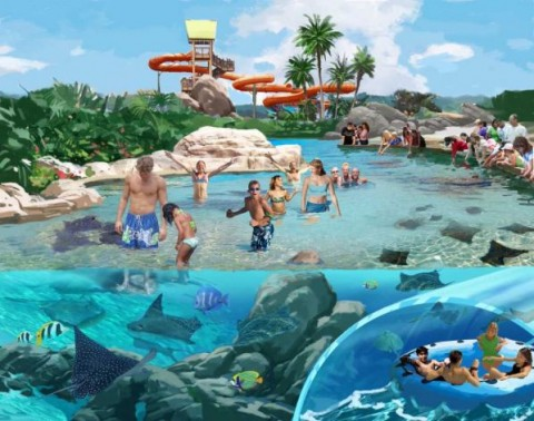 Aquatica Texas concept art